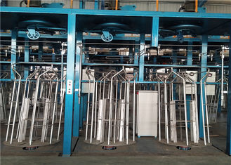 Hot Dipped Continuous Wire Galvanizing Line For Zinc Aluminium Galfan Wire