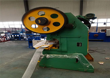 Concertina Razor Barbed 1350m / Hour Wire Mesh Making Machine